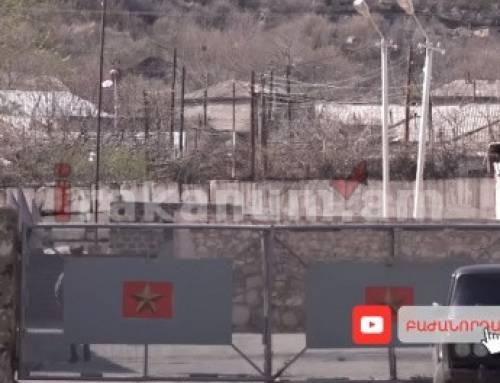 Կյանք գողերին, մահ ոստիկաններին․ բացականչել են Մեղրու գնդի զինվորները