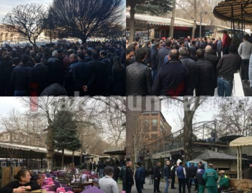Օպերայի սրճարանները ապամոնտաժվում են․ լարված իրավիճակ (լուսանկարներ)