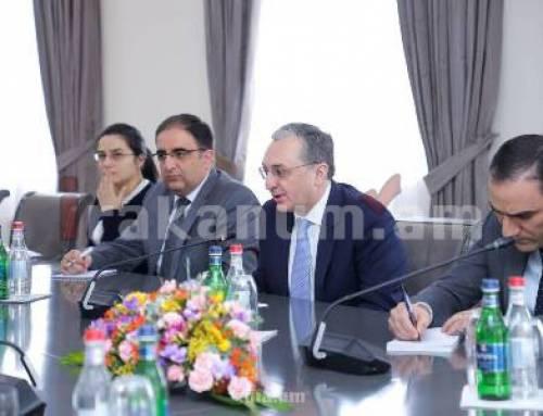 Զոհրաբ Մնացականյանը ՄԱԶԾ կառավարչի տեղակալի հետ քննարկել է Հայաստանի զարգացման օրակարգի շուրջ համագործակցությունը