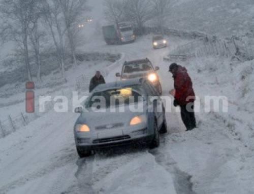 Երեւան-Մեղրի ճանապարհին մոտ 200 մեքենա է արգելափակվել