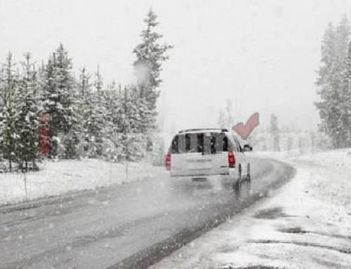 Կոտայքի մարզի Հրազդան և Չարենցավան քաղաքներում ձյուն է տեղում