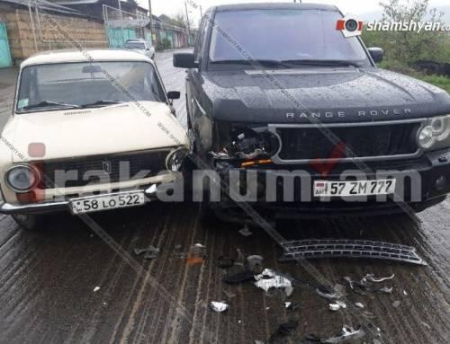 Տավուշում բախվել են Range Rover-ն ու ՎԱԶ-21013-ը. կա տուժած