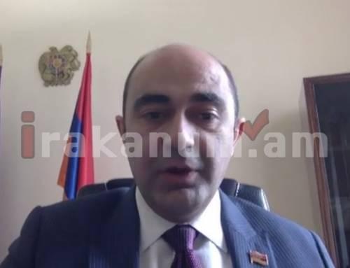 Նոր Հայաստանի ընդդիմության մասին. Էդմոն Մարուքյան
