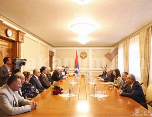 Բակո Սահակյանը «Հայաստան» համահայկական և Թուֆենկյան հիմնադրամների ներկայացուցիչների հետ քննարկել է տարբեր ծրագրեր