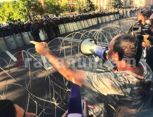 ԵԽԽՎ-ում բացվել է հայկական թավշյա հեղափոխության նկարների ցուցահանդեսը