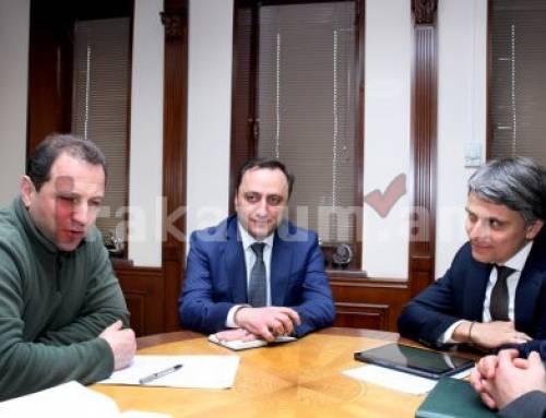 Դավիթ Տոնոյանը ՄԱԿ-ի Զարգացման ծրագրի մշտական ներկայացուցչի հետ քննարկել է Սիրիայում հայկական առաքելությունը