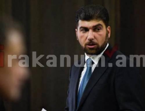 ՊՎԾ պետ Դավիթ Սանասարյանին մեղադրանք է առաջադրվել