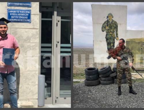 Արտերկրից՝ հայրենիք․ ծառայել Հայաստանին զենքով ու գրչով․ շարքային Մարտիրոսյան