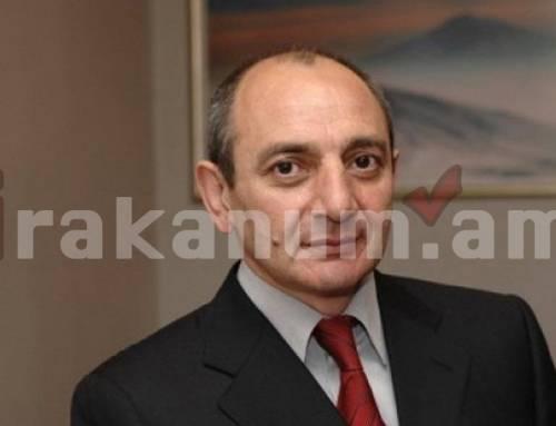 Փակ հանդիպում. Բակո Սահակյանն այսօր կլինի ԱԺ-ում