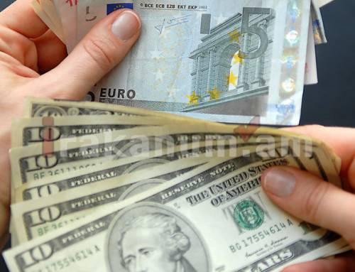 Դոլարի փոխարժեքը նվազել է, եվրոյինն ու ռուբլունը՝ ավելացել
