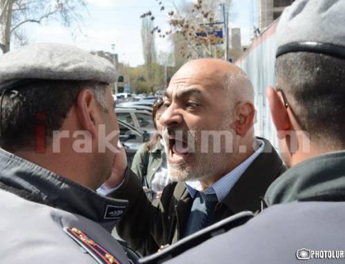 Գասպարին վիրավորել է ոստիկաններին․ ենթարկվել է վարչական պատասխանատվության