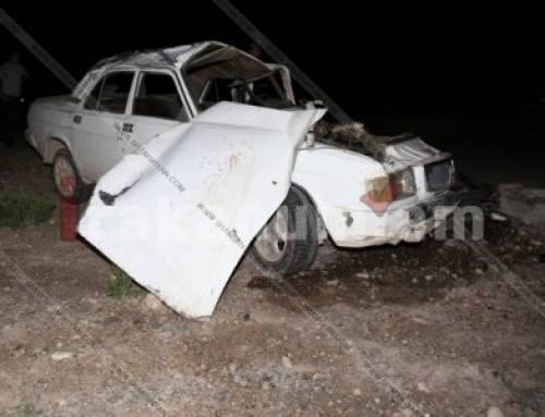 Ողբերգական վթար Արմավիրի մարզում․ զինծառայող է մահացել, երեք հոգի հոսպիտալացվել է (ֆոտո)