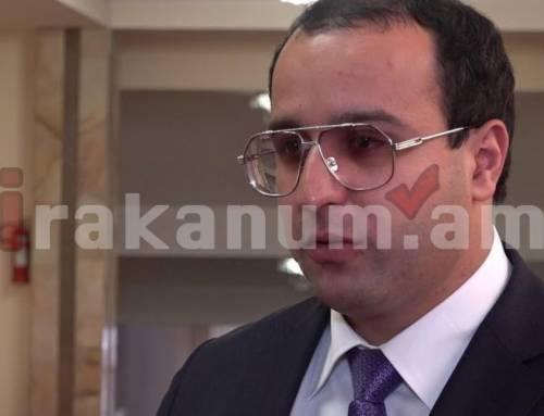 Հայկ Սարգսյանի պատասխանը Քոչարյանի պաշտպաններին
