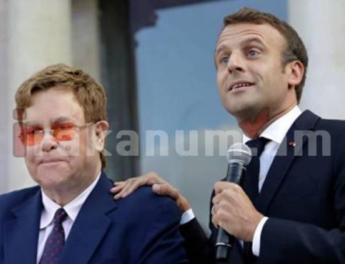 Մակրոնը Էլթոն Ջոնին արժանացրել է Ֆրանսիայի Պատվավոր Լեգեոնի շքանշանի