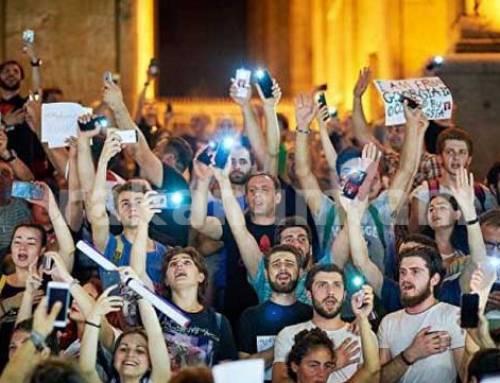 Թբիլիսիում «Ազատության երթ»    է  ազդարարվել