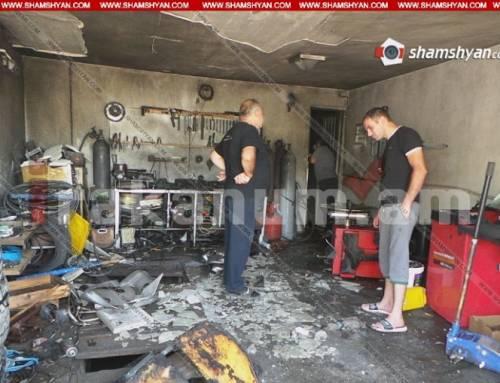 Գեղանիստի ավտովերանորոգման արհեստանոցներից մեկում պայթյուն է տեղի ունեցել. 2 մարդ վնասվածքներով տեղափոխվել է «Աստղիկ» ԲԿ. Shamshyan.com