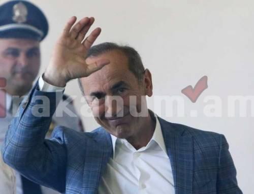 Պաշտպանները միջնորդել են դատարանին վերացնել Ռոբերտ Քոչարյանի գույքի վրա դրված արգելանքը