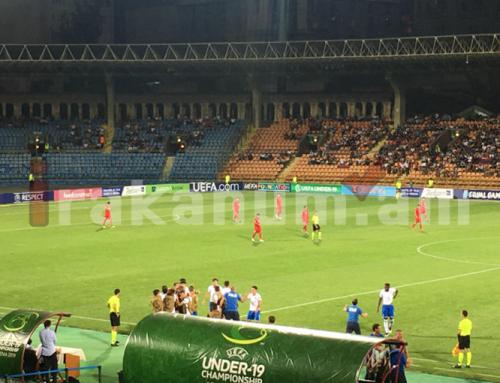 Մ19 Եվրո-2019․ Իտալիայի հավաքականը 3 րոպեում 2 գոլ խփեց Հայաստանին