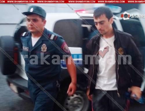 Աբովյանում հրազենի գործադրմամբ աղմկահարույց սպանությունը կատարելու կասկածանքով ձերբակալված 33-ամյա տղամարդը տեղափոխվել է դատարան