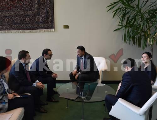 Տիգրան Ավինյանը հանդիպել է Ղրղզստանի փոխվարչապետին