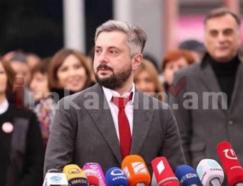 Աշխատանքից ազատվել է վրացական «Ռուսթավի 2» հեռուստաալիքի գլխավոր տնօրենը