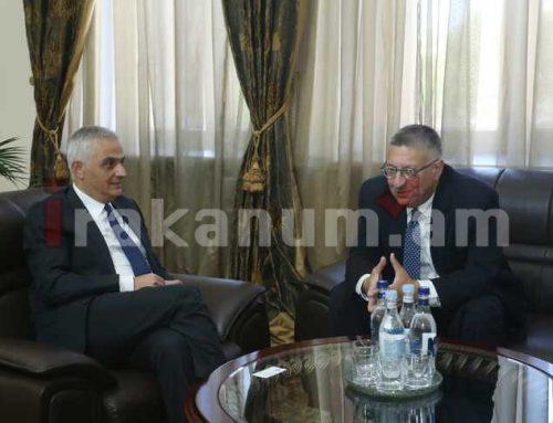 Փոխվարչապետ Մհեր Գրիգորյանն ընդունել է Ամերիկայի հայկական համագումարի հոգաբարձուների խորհրդի համանախագահին