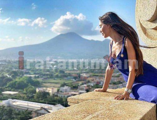 «Ես հանգստի ընթացքում եմ կարոտում Հայաստանը». Նազենի Հովհաննիսյանի լուսանկարն Իտալիայից