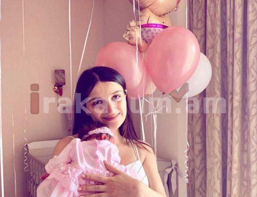 «Դու իմ ամենանվիրական ու իրական երազանք». Սիլվա Հակոբյանը հրապարակել է դստեր հետ առաջին լուսանկարը