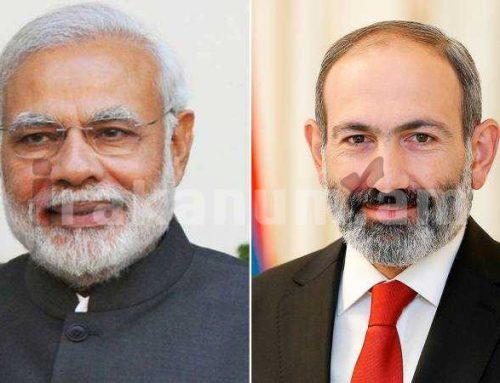 Վարչապետը շնորհավորել է Հնդկաստանի վարչապետին՝ Անկախության օրվա առթիվ