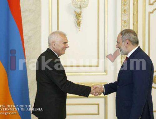 Ձեզ համարում ենք ՀՀ ժողովրդավարության բարեկամը. Վարչապետի հրաժեշտի հանդիպումը Պյոտր Սվիտալսկու հետ