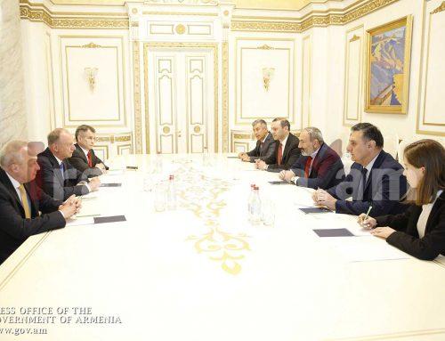 Վարչապետն ընդունել է ՌԴ Անվտանգության խորհրդի քարտուղարին