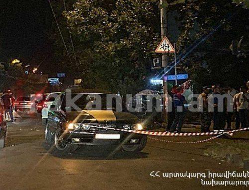 ՃՏՊ Գարեգին Նժդեհի և Մայիսի 9-ի փողոցների խաչմերուկում