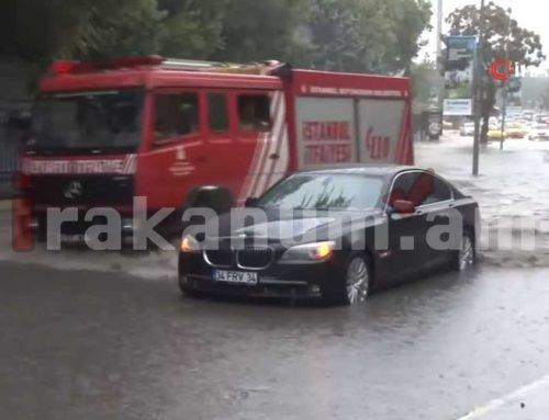 Հորդառատ անձրեւները հեղեղել են Ստամբուլը. մեկ մարդ է զոհվել