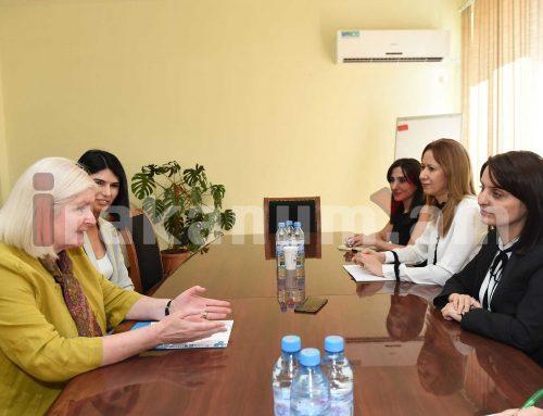 Զարուհի Բաթոյանը հրաժեշտի հանդիպում է ունեցել Միացյալ Թագավորության դեսպան Ջուդիթ Մարգարեթ Ֆարնուորթի հետ