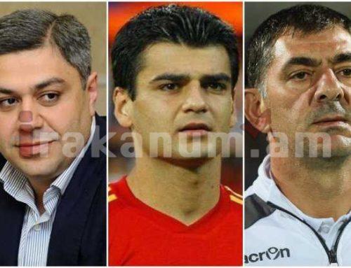Ֆուտբոլի Հայաստանի ազգային հավաքականի գլխավոր մարզիչը հրաժարական է ներկայացրել