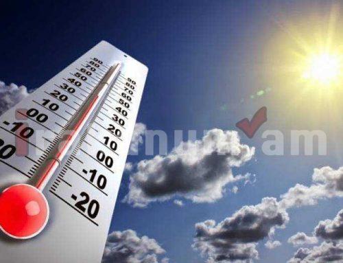 Օդի ջերմաստիճանը 8-9-ը կնվազի 3-5 աստիճանով. եղանակը Հայաստանում