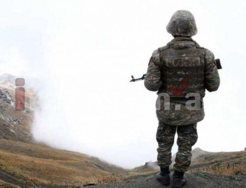 Արցախում զինվորը կրակել է իր ոտքին