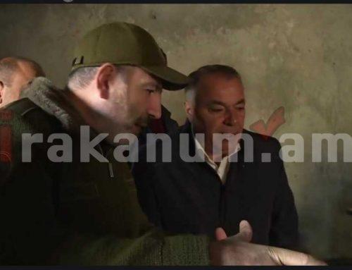 ՀՀ վարչապետ Նիկոլ Փաշինյանը Եղվարդում է