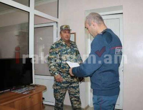 Արցախի ոստիկանությունում իրականացվել է ՔՊ կառավարման մարմինների եւ ուժերի ստուգում