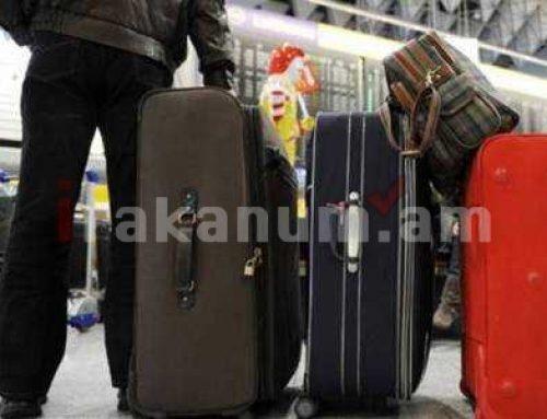 Հայաստանից արտագաղթը նվազել է. 9 ամիսներին սահմանահատումների սալդոն կազմել է – 9857