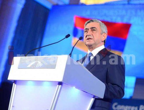 Սերժ Սարգսյանն աշխատանքային այցով մեկնել է Զագրեբ