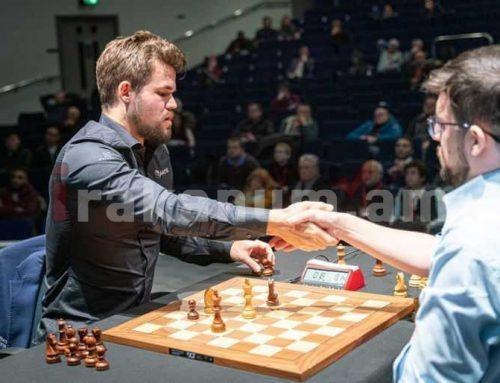 Grand Chess Tour. Լևոն Արոնյանը ոչ ոքի խաղաց Մագնուս Կարլսենի հետ