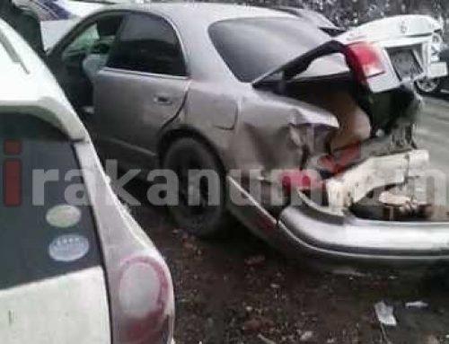 Ավտովթար Երևան-Գյումրի ավտոճանապարհին