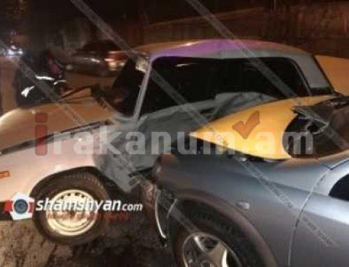 Վանաձորում ВАЗ-2107 եւ Opel մակնիշի ավտոմեքենաները բախվել են միմյանց. կա տուժած