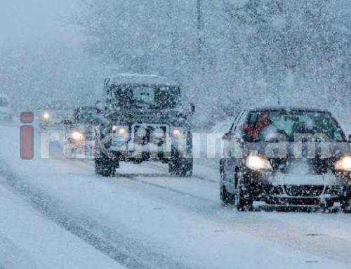 Վարորդներին խորհուրդ է տրվում երթեւեկել բացառապես ձմեռային անվադողերով