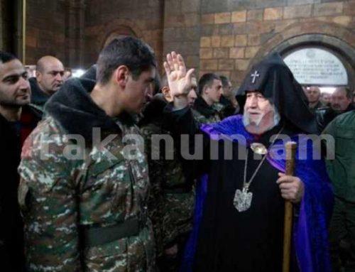 Բանակի օրվա առիթով Մայր Աթոռ Սուրբ Էջմիածնում Սուրբ Պատարագ և պարգևաբաշխություն է կատարվել