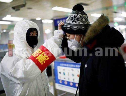 Չինաստանում կորոնավիրուսով վարակվածների թիվը գերազանցել է 5,9 հազարը