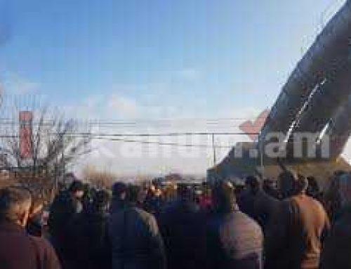Գյուղացիները փակել են Մխչյան գյուղի ճանապարհը. Բողոքի ակցիա ընդդեմ սպանդանոցների. Ուղիղ