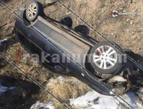 Խոշոր ավտովթար Կոտայում. 38-ամյա վարորդը Opel-ով գլխիվայր շրջվելով հայտնվել է ձորակում. կա վիրավոր (ֆոտո)