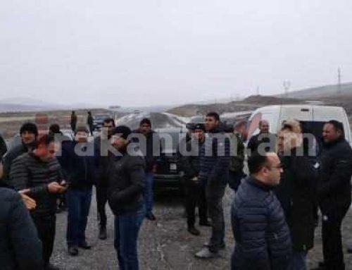 Գորելովկայի բնակիչները փակել են ՀՀ սահման տանող միջպետական ճանապարհը